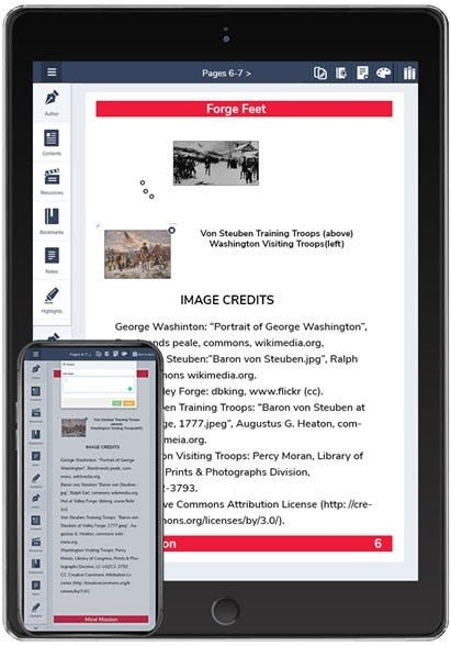 Download Hand2mind resources through MagicBox's eReader for offline learning.
